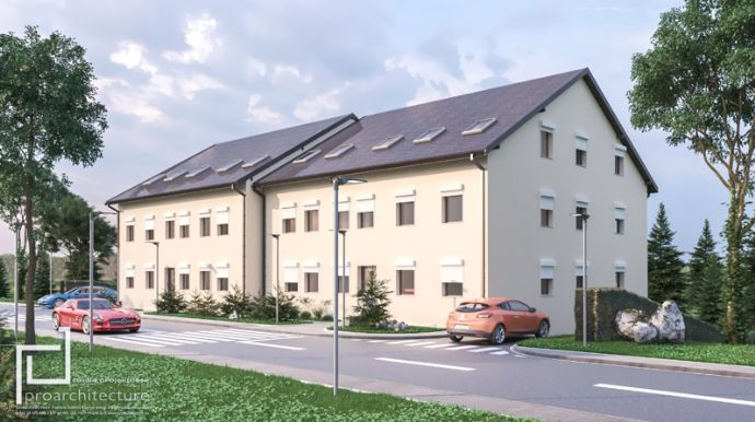 NEUBAU 4 Zimmer WHG Inl. Balkon und Garage in Rödental bei Coburg