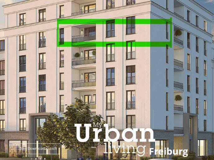 Gehobene 3-Zimmer-Wohnung mit Balkon inkl. Blick aufs Grüne