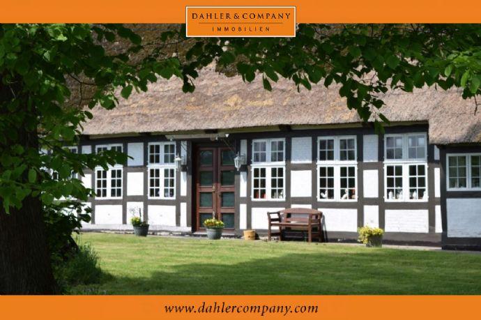 - RESERVIERT - Historischer Fachwerklandsitz am Ostedeich
