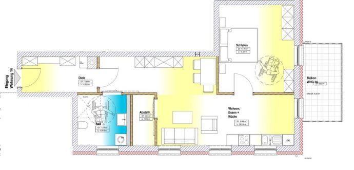 Wohnung zu kaufen in Zerf - A17464