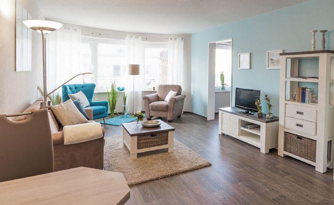 Gemütliche Senioren-Wohnung mit schönem Erker