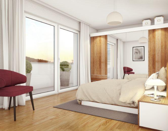 Attika- Eigentumswohnungen 2 + 3 Zimmer Zentrum