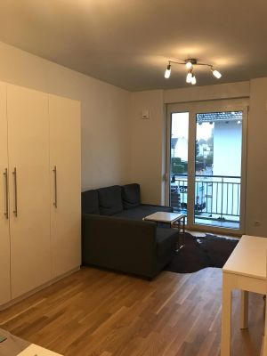 1-Zimmer-Apartment mit Balkon in Neubiberg direkt an der S-Bahn Station