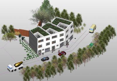 RESERVIERT! Baufertiges Grundstück | exklusives Stadtreihenhaus | 10 Minuten ins Zentrum