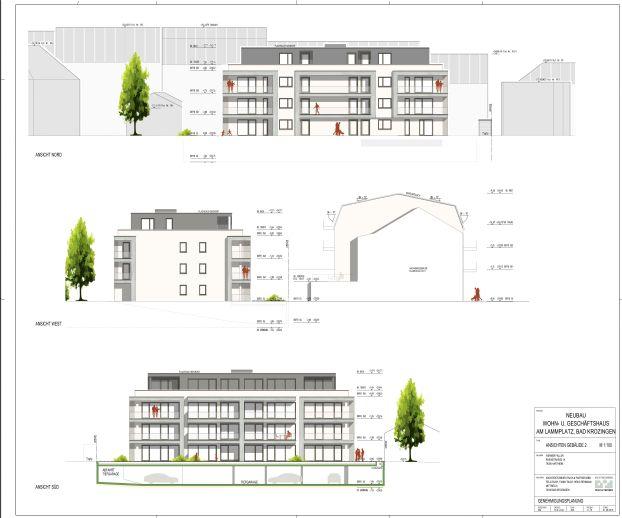 Provisionsfrei! * Exklusiver Neubau im Herzen von Bad Krozingen * Fertigstellung Frühjahr 2021