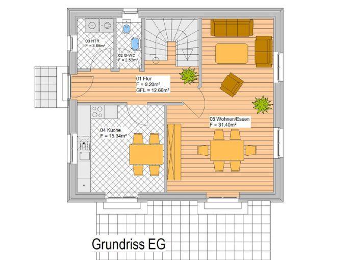 Neubau eines modernen Einfamilienhauses Einfamilienhaus Wahlstedt ...