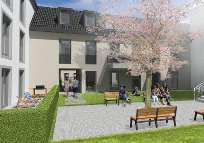 2 zimmer wohnung im dachgeschoss neubau provisionsfrei weitere grundrisse verf gbar. Black Bedroom Furniture Sets. Home Design Ideas