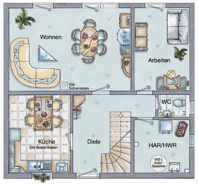 Erdgeschoss 5 Zimmer Variante