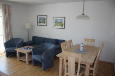 Wohnzimmer einer 3-Raumwohnung