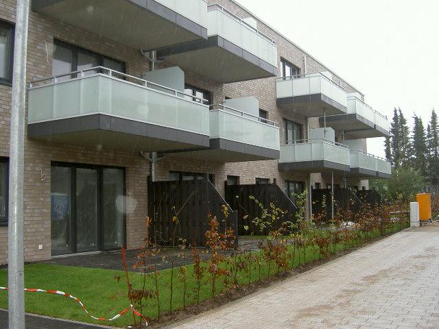 2 Zi.-Erdgeschoß-Wohnung, Neubau- Erstbezug in guter Lage!
