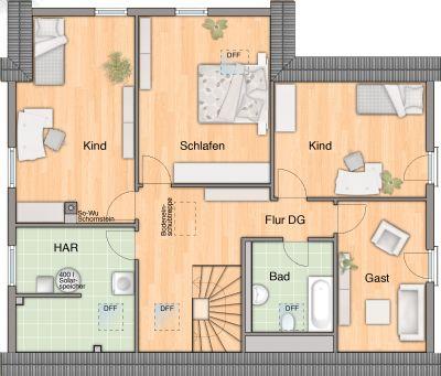 Dachgeschoss Einliegerwohnung