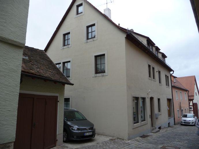 Wohn- und Geschäftshaus in der Altstadt von Rothenburg