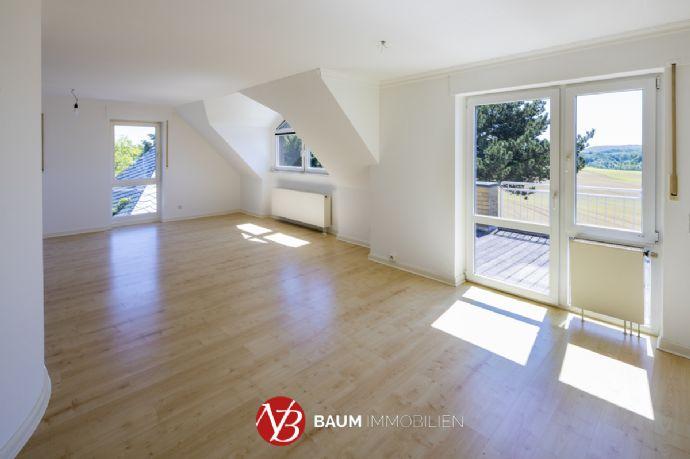 Wohnen mit Weitblick Imposante 3-Zimmer-Maisonettewohnung