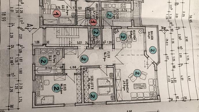 Zu Vermieten - 3-Zimmer-Wohnung in Mühlheim am Main - Einziehen und Wohlfühlen!