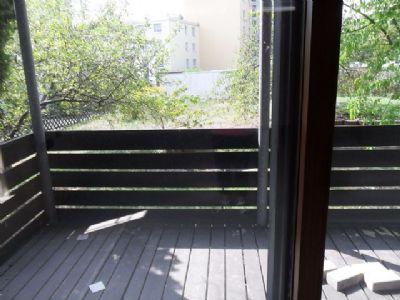 Terrasse geht über die ganze Etage
