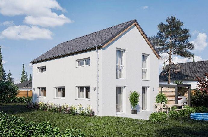 modern, massiv und effizient Neubau in Basdorf