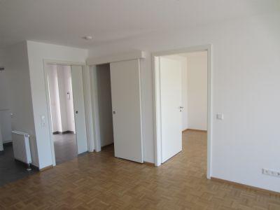 Wohnzimmer Eingang Schlafzimmer - Beispielwohnung