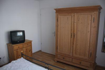 Schlafzimmer einer 2-Raumwohnung