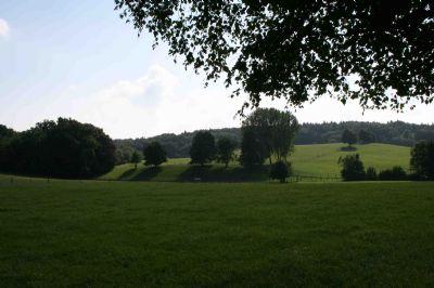 Fünf Minuten zu Fuß mitten in der Natur