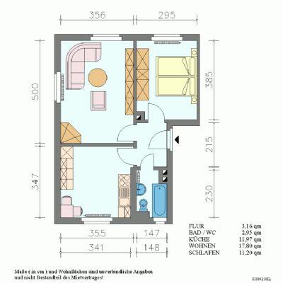 2-Raum-Wohnung in Pirna-Copitz
