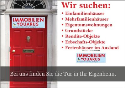 Immobilien YOUARUS sucht Immobilien