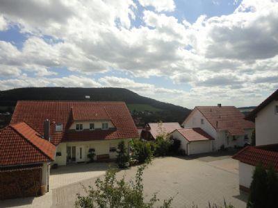 Aussicht von Balkon und allen Terrasse
