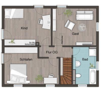 Obergeschoss-Variante