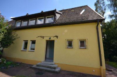 Eingangsseite des Hauses