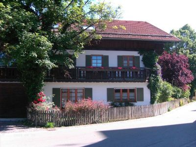 Lechbruck-Prem, 3 Ferienwohnungen im schönen Gästehaus - Gruppenreisen möglich
