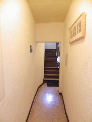 Treppenaufgang zum Dachgeschoß