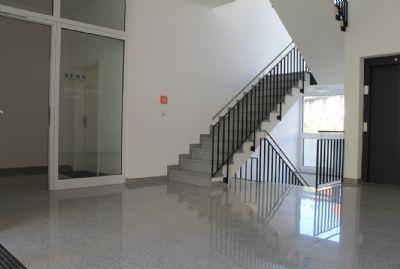 Der repräsentative Eingangsbereich Florianweg 1