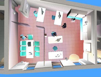 Mittlere Einheit: Büronutzung 45 m2