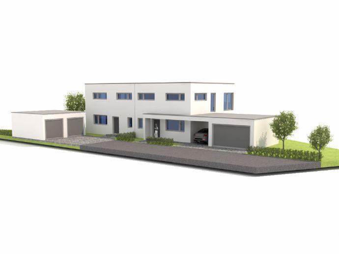 neubau einer doppelhaush lfte mit doppelgarage straubing e2adf49e. Black Bedroom Furniture Sets. Home Design Ideas