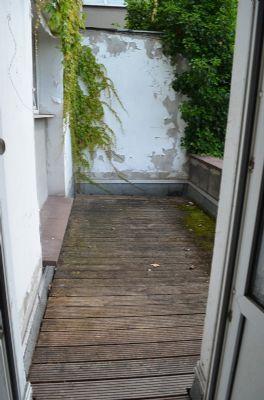 """""""kleine"""" Dachterrasse (Zugang durch das Badezimmer"""