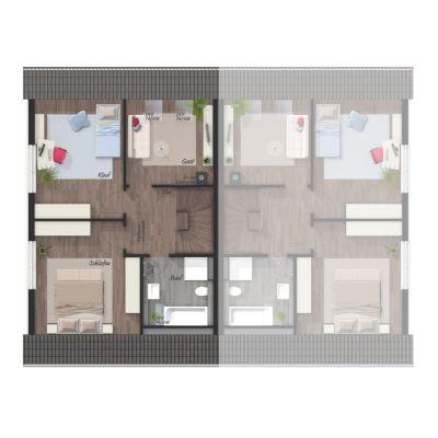 Neues doppelhaus in rosendahl mit festpreisgarantie zu for Wohnung rosendahl