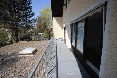 Balkon Arztpraxis