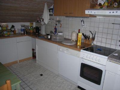 Küche (wird ohne Einbauküche vermietet)