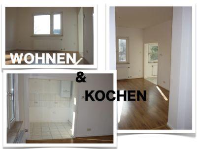 Wohnraum (2) mit kl. offener Küche (jetzt mit EBK)
