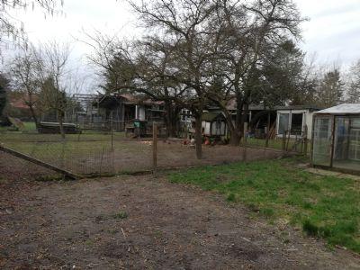 Grundstück mit Nutzungsteilung / Gartenflächen