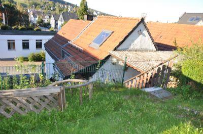 02. Blick vom Garten