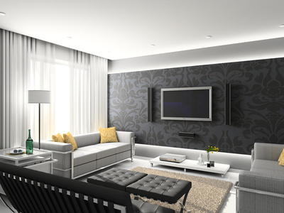 Einrichtungsmöglichkeit Wohnzimmer