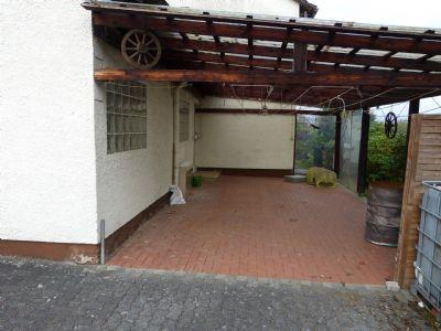Terrasse mit Perkula überdacht