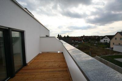 Fernblick von der Dachterrasse