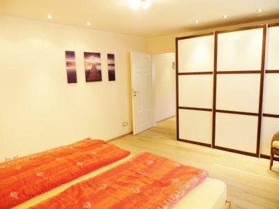 Schlafzimmer im Hangteil