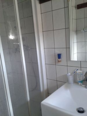 WC u. Dusche im KG