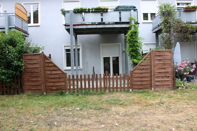 Schicke 3-Raumwohnung mit Terrasse und