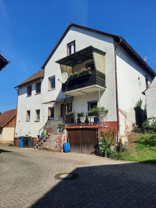 Einfamilienhaus in Hagenbüchach - Oberfembach zu