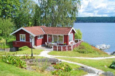 Ferienhaus in Åmmeberg Unterkunft