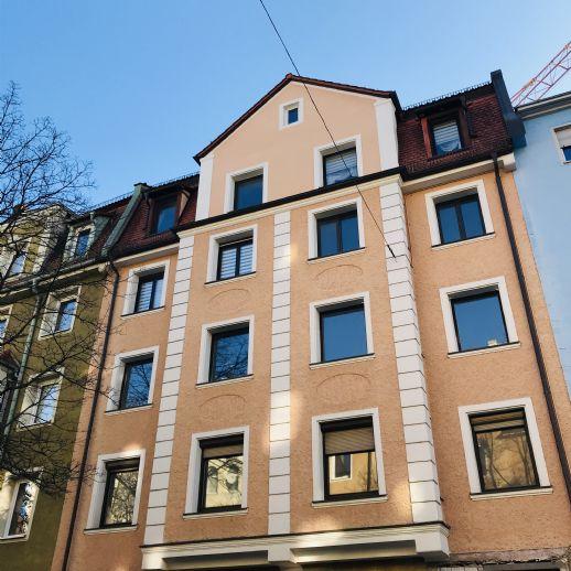 5er WG Neugründung in Nürnberg, nähe Hauptbahnhof - Top Grundriss für WGs, 2 Balkone, komplette Küchenzeile und ein separates Gäste WC