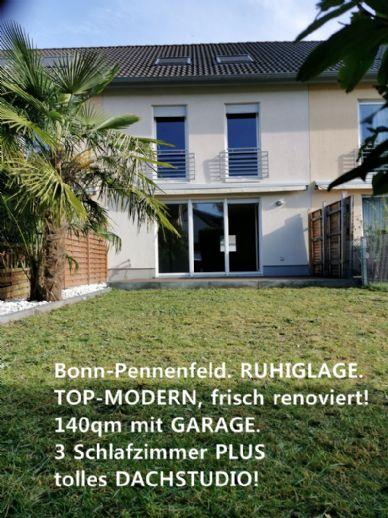TOP-MODERN. Bj 2004 SÜD-WEST-LAGE! Bonn-Pennenfeld MIT GARAGE!